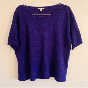 Eileen Fisher Organic Cotton Linen Top